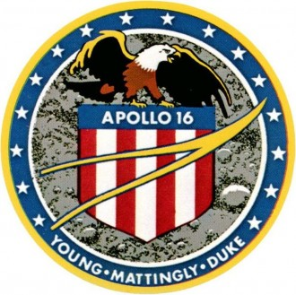 Logotipo da missão Apollo 16