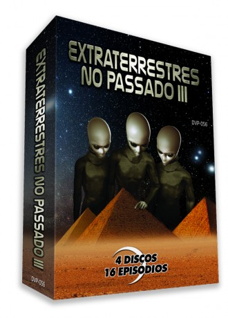 Pacote Completo - Extraterrestres no Passado III